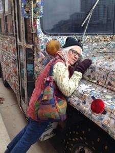 Mirrored bus by Nancy Josephson